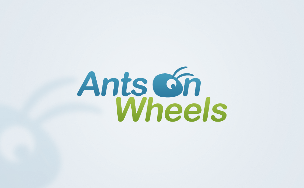Ants on wheels logo image