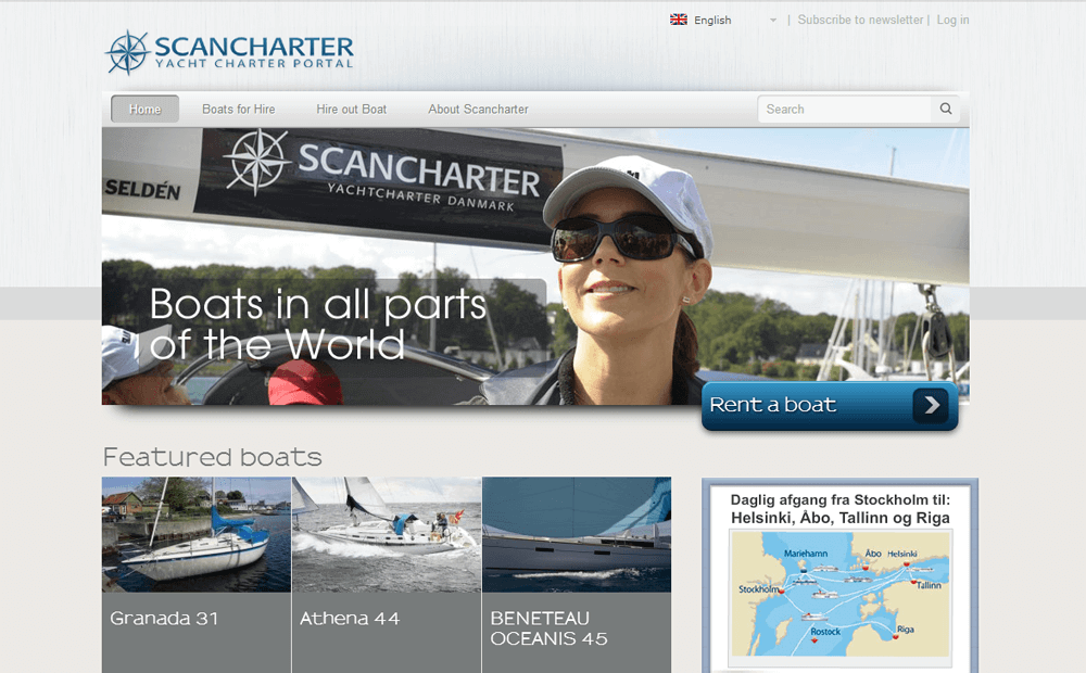 Scancharter website image 1