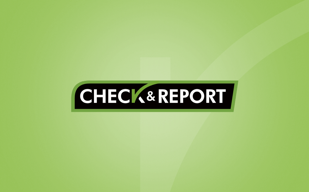 check report logo image