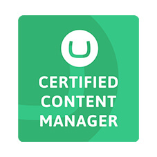 Umbraco Certified Content Manager
